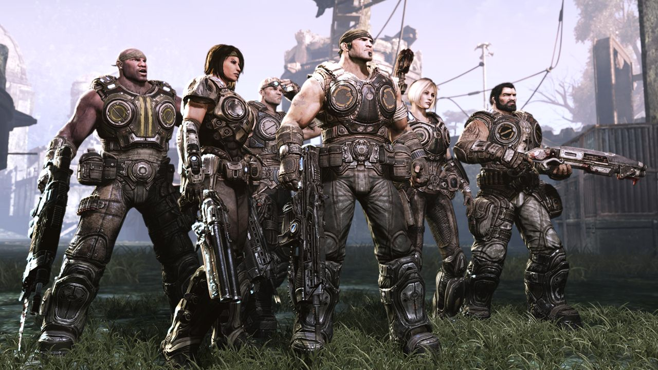 Marcus King e os novos personagens de Gears of War 3